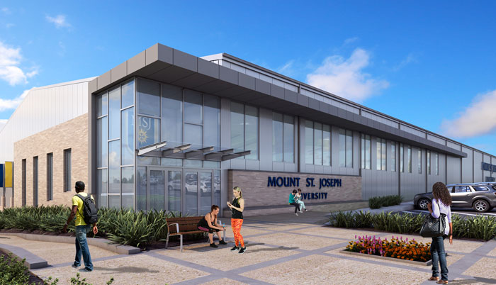 Recreation and Fitness Center rendering